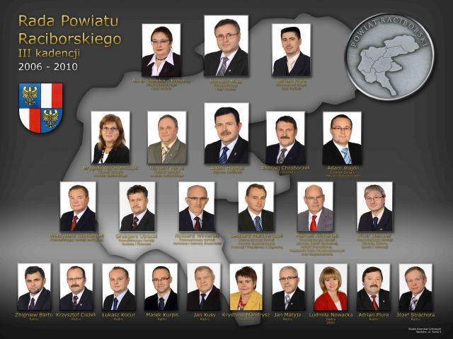 rada powiatu raciborskiego - tablo